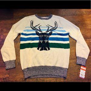 NWT Kids Deer Holiday Sweater ❄️